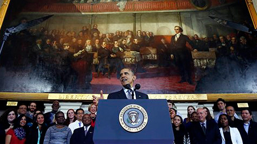 President Obama blasts insurance co's