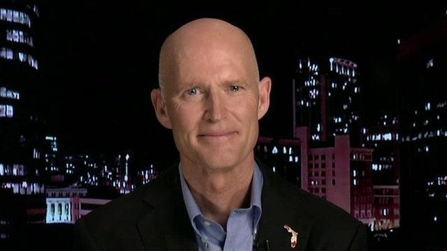 Gov. Rick Scott provides insight into Florida governor race