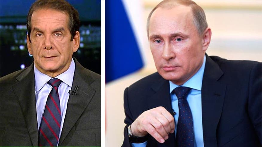 "Krauthammer: ""Putin is like Hitler but he's more subtle"""