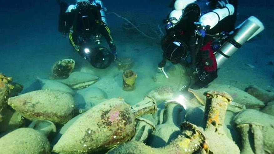 Skeleton of ship that sank thousands of years ago discovered in Mediterranean Ocean