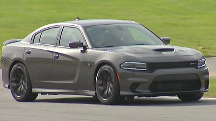 Fox Car Report's Gary Gastelu takes the 707hp 2015 Dodge Charger SRT Hellcat for a spin around Summit Point Motorsports Park.
