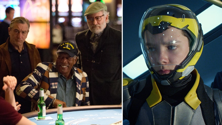 Ashley Dvorkin and Justin Craig break down 'Last Vegas' with Michael Douglas, Robert De Niro, Morgan Freeman and Kevin Kline, plus the sci-fi epic 'Ender's Game' with Harrison Ford
