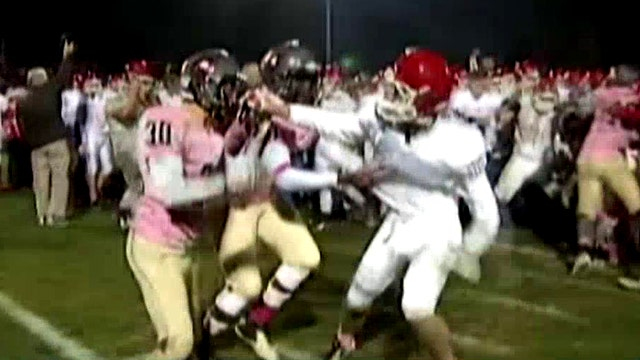 All-out brawl mars end of high school football game