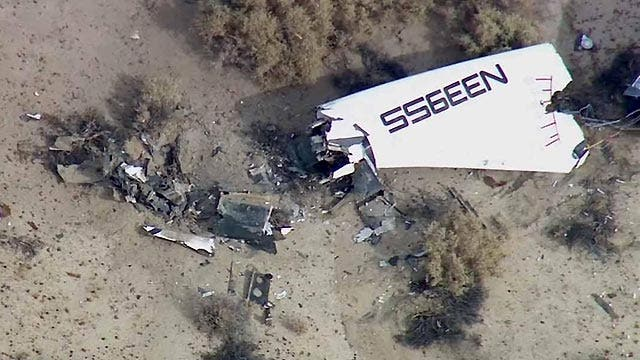 Witness describes SpaceShipTwo explosion over desert