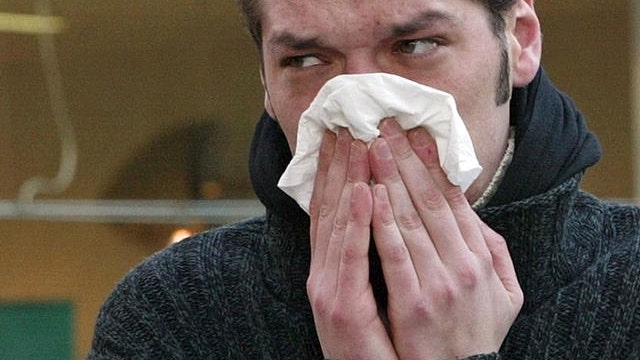 Can Ebola be transmitted from a cough or sneeze?