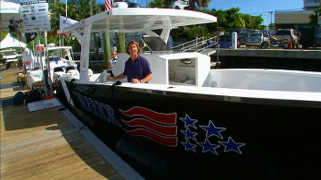 'Blue Water Warriors' help wounded heroes enjoy boating