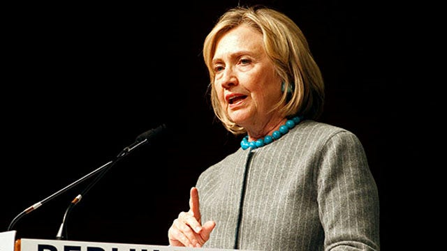 Pouncing on Hillary's gaffe
