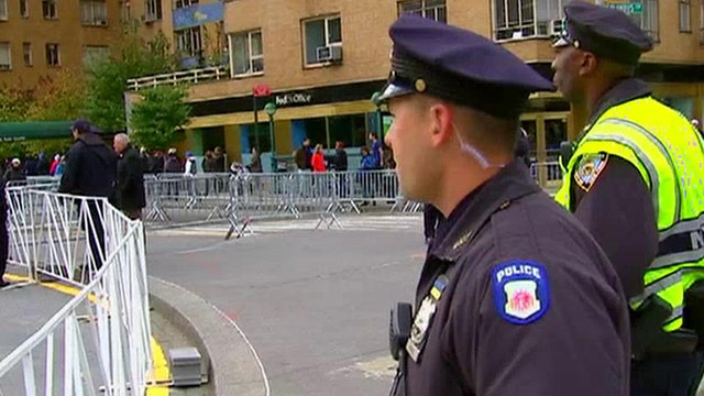 NYC ramps up security for the world's largest marathon