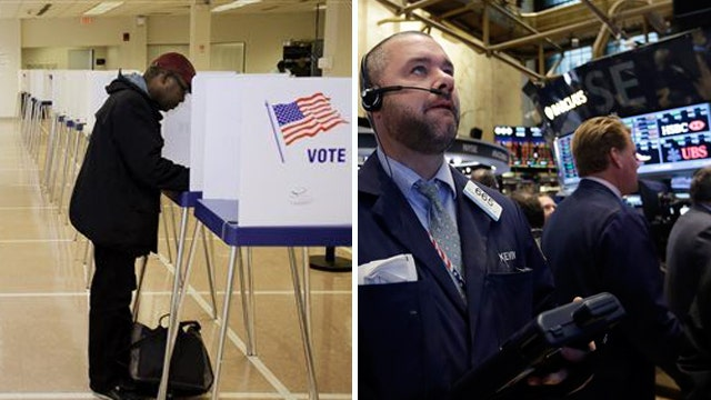 Economy on voters' minds at the polls