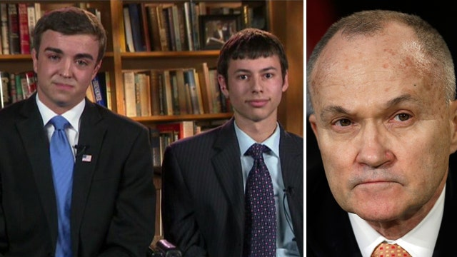 Brown University students react to Ray Kelly controversy