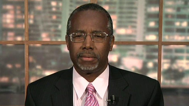 Dr. Ben Carson on Dems playing the race card in midterms