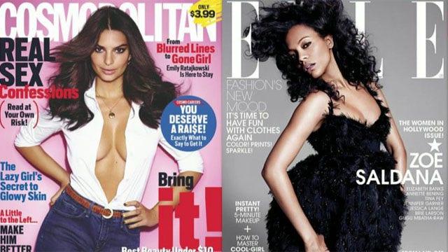 Women's fashion magazines getting into politics