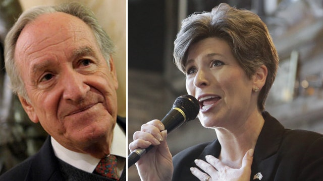 Harkin in hot water over comments on Ernst's looks, politics