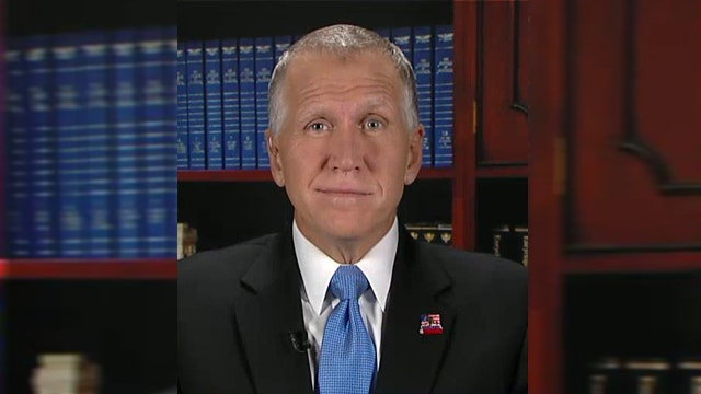 Thom Tillis on race for the Senate in North Carolina