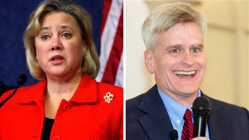 Senator Mary Landrieu neck and neck with GOP challenger Bill Cassidy