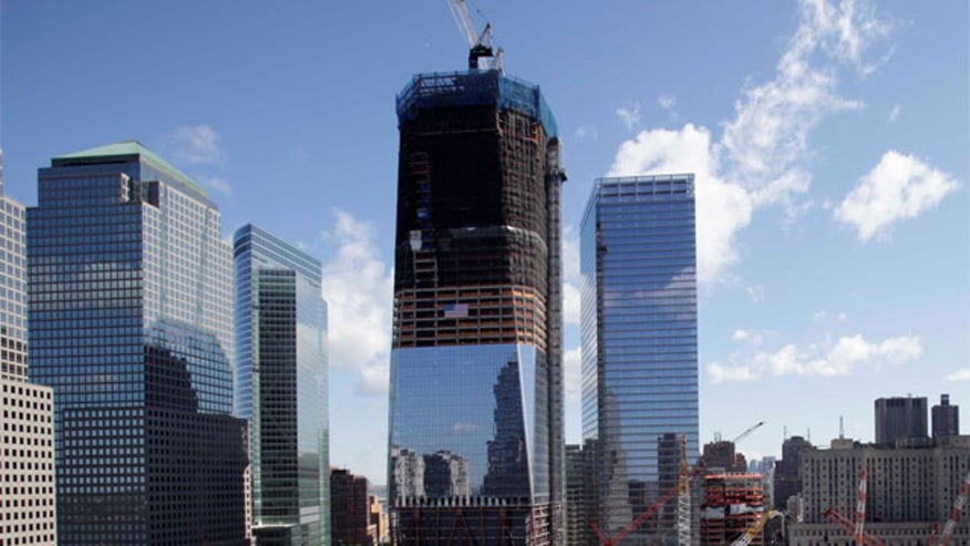 Time-lapse video by Benjamin Rosamond of the entire construction of 1 World Trade Center