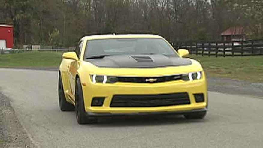 Fox Car Report drives the 2014 Chevrolet Camaro SS 1LE