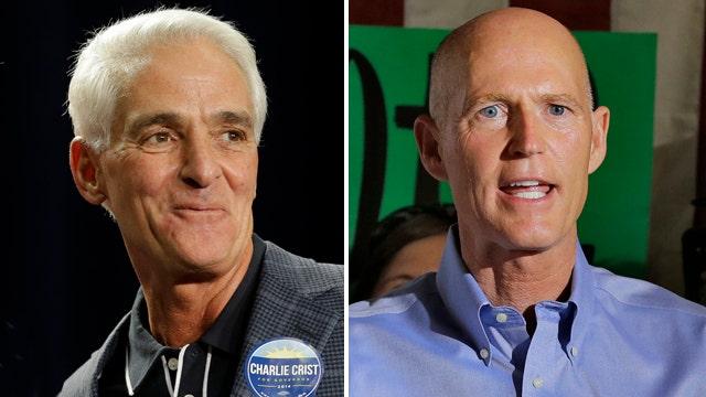 Heat is on in Florida's gubernatorial election