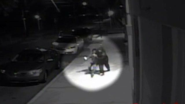 Surveillance video catches abduction of 22-year-old