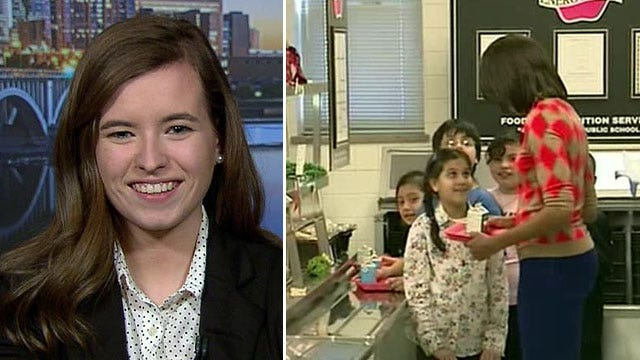 Student organizes campaign to repeal school lunch rules