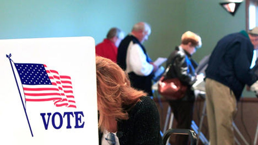 Pollsters use numbers as first indication of election results