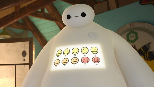 Disney and Marvel join forces in 'Big Hero 6'