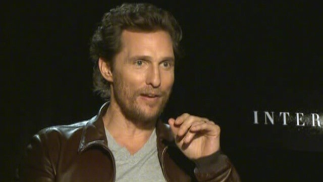 McConaughey and Hathaway open up on 'Interstellar'