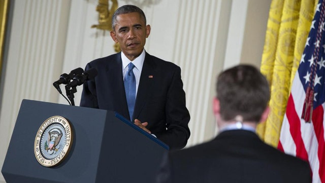 President Obama defiant in face of GOP wave