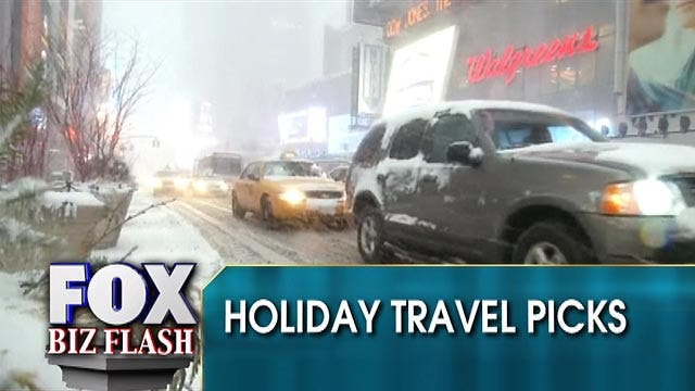 What's the best city for winter holiday travel?