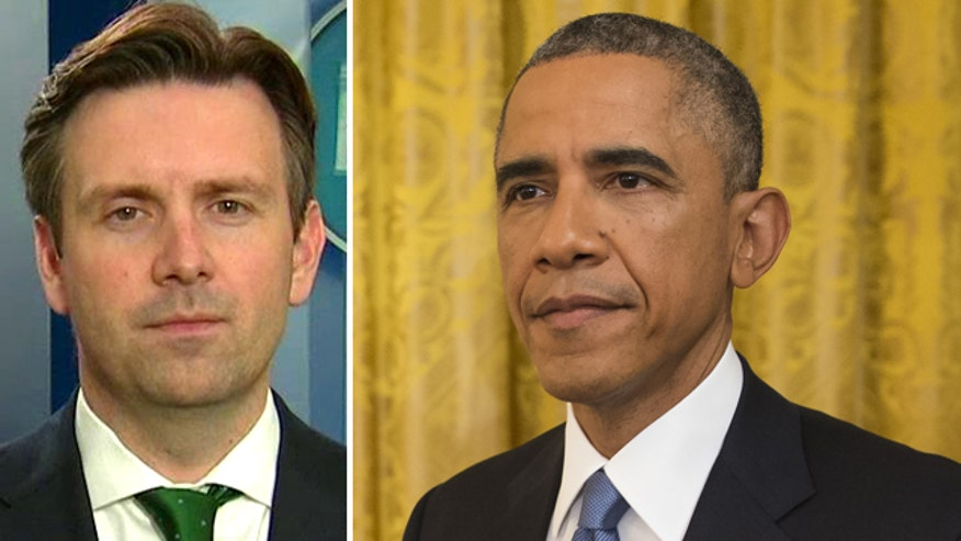 Press secretary Josh Earnest: President is focused on finding 'common ground' with GOP to get results voters want