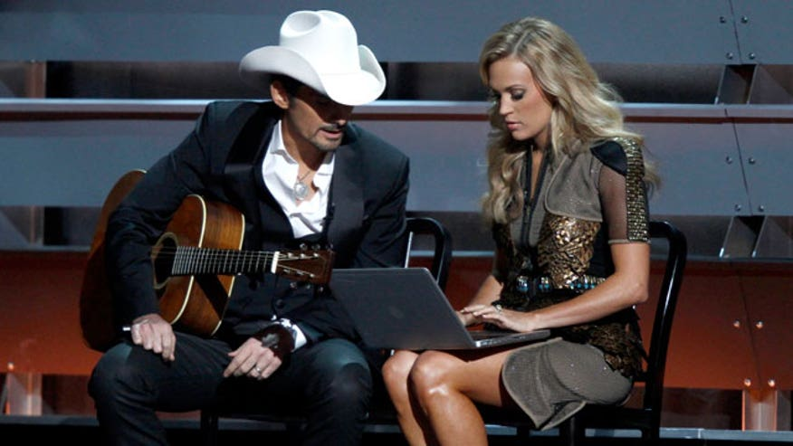 Parody song hits home for Brad Paisley and Carrie Underwood