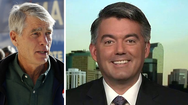 How did Cory Gardner turn Colorado from blue to red?