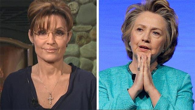 Sarah Palin provides insight into Hillary Clinton's bad week
