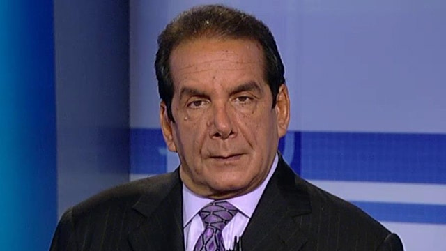Krauthammer's message to GOP: This is your chance to govern