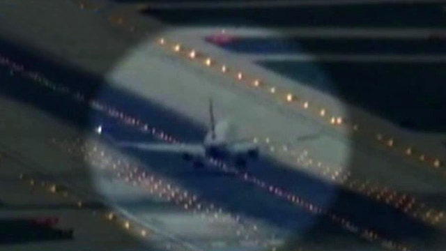 Fierce winds lead to rough landing at Chicago airport