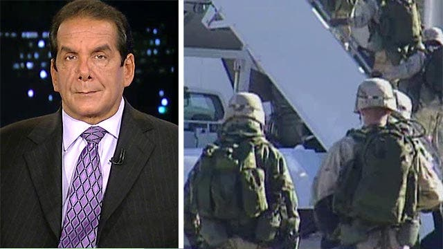 """Krauthammer:  Timing of Iraq troop increase """"deeply cynical"""""""