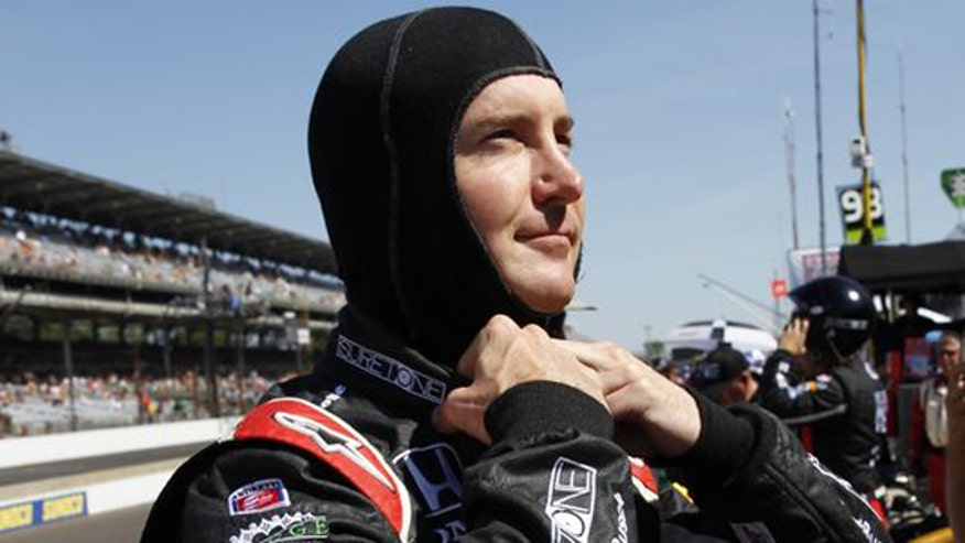 NASCAR driver has struggled with anger management in past