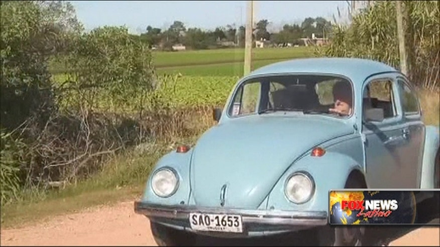 Uruguay's President Jose Mujica said that he has received a million-dollar offer to buy his blue 1987 Volkswagen Beetle, which has become a symbol of the Uruguayan leader's austere lifestyle.