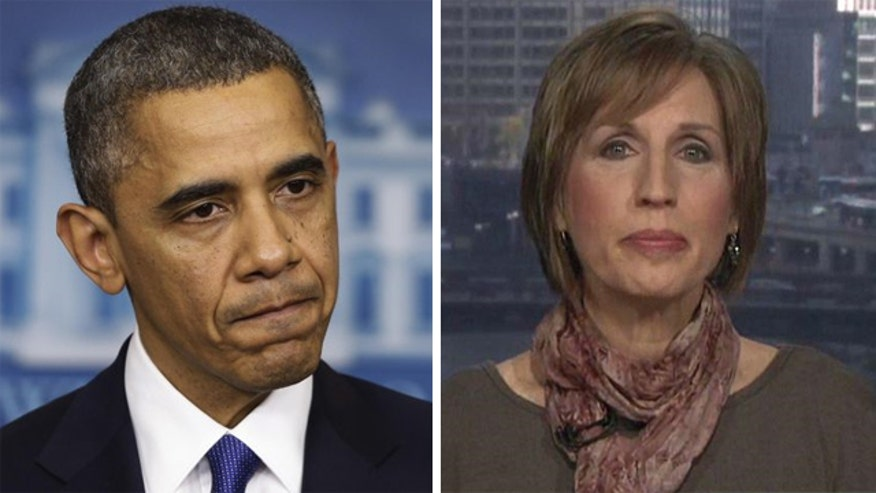 Woman who was dropped from insurance reacts to Obama's remarks