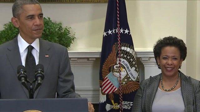 Pres. Obama names Loretta Lynch the new Attorney General