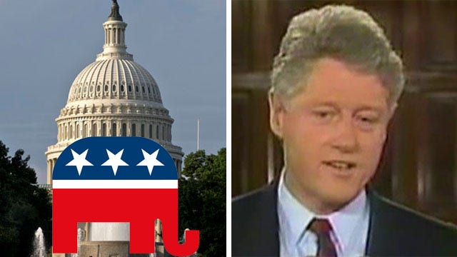 GOP wave sparks comparisons to takeover during Clinton years