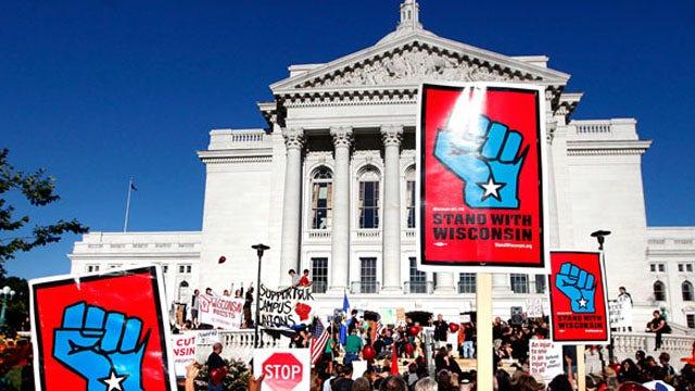 Politicians battling power of unions score election wins
