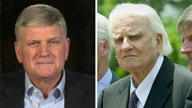 Rev. Franklin Graham on father Billy Graham turning 96