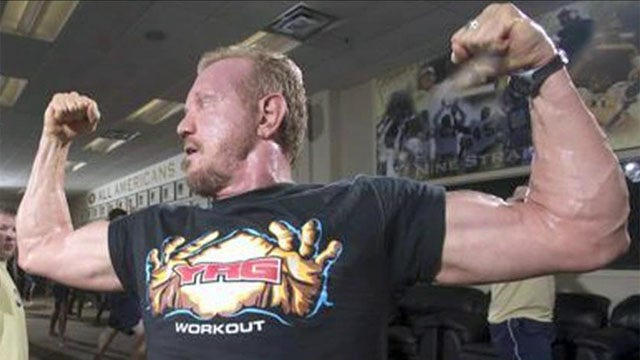 Diamond Dallas Page puts his own twist on yoga