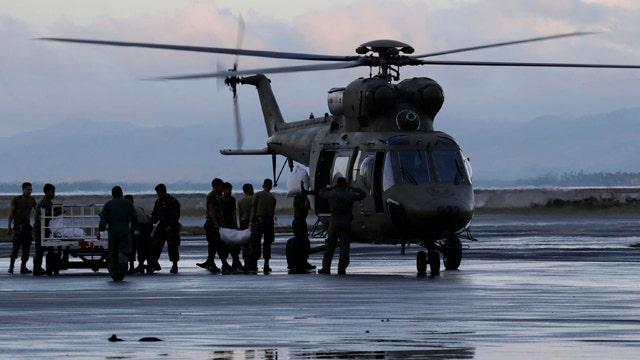 Rescue efforts underway in Philippines after super typhoon