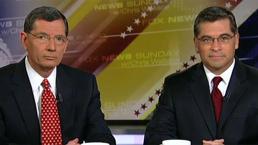 Reaction from Republican Sen. John Barrasso and Democratic Rep. Xavier Becerra