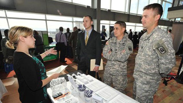 Top companies looking to hire veterans