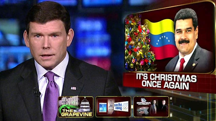 Socialist President Maduro decrees the holiday season is now