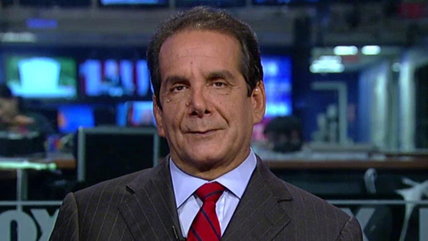 Charles Krauthammer weighs in