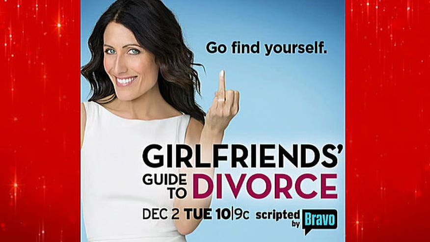 'Girlfriends Guide to Divorce' poster deemed inappropriate by some